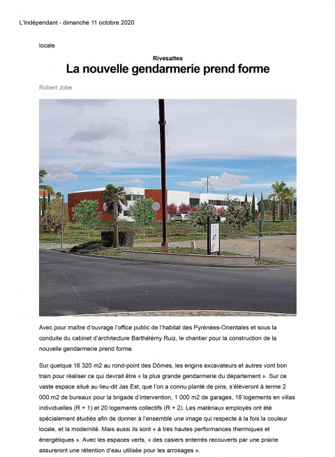 Lindependant 11 10 2020 1page 1